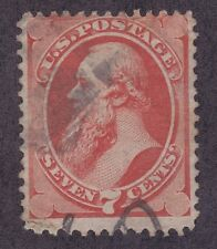 US 149 Used 1871 7¢ Edwin M. Stanton Issue Scv $90.00