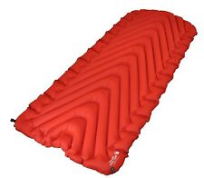Klymit Insulated Static V Luxe Oversized Sleeping Pad Red/charcoal Gz06lird01d