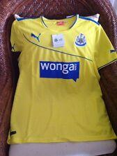 NWT Puma Premier League Newcastle United 2013-14 Soccer Jersey Size L Men's
