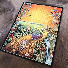 Grateful Dead Golden Road Poster (No Letters) Limited Edition - M.DuBois (AP)
