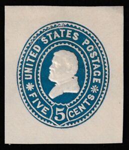 1899 Cut Square,  Scott U377,  Unused