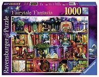 Ravensburger Conte de Fées Fantasia 1000 Pièces Puzzle Bibliothèque Livres
