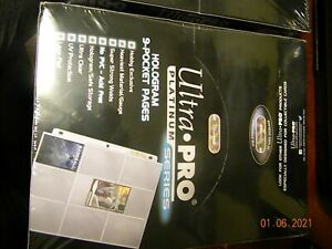 Ultra Pro UP209D-1 9 Pocket Trading Card Pages - 100 Pages