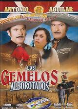 LOS GEMELOS ALBOROTADOS * DVD * NEW & Sealed* Antonio Aguilar *1983 Orig Movie