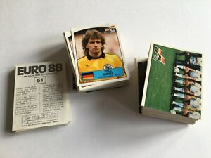 Panini Euro 88 Stickers - Complete Your Collection