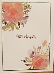 "KITTY'S NOTE CARDS - Set of 10 + Envelopes - ""Watercolor Roses"""