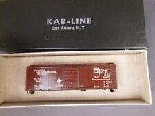HO SCALE KAR-LINE RF&P 40' BOX CAR KIT