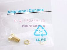 Amphenol Connex 132289 Gold Sma Take Off Jack 18 Ghz - Sold by W5Swl