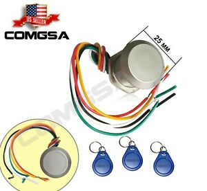 Hide Mini RFID Reader 125K EM4100 Proximity Wiegand26 For Access control. USA