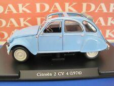 Die cast 1/24 Modellino Auto Citroen 2 CV 4 1976