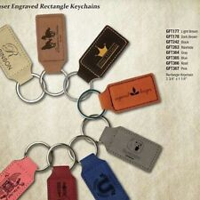 Christmas Holiday Leather Key-chain Gift Items - Custom Engraved-Pink