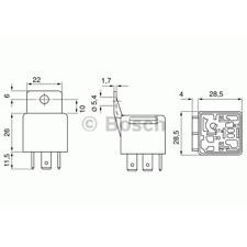 Relais - Bosch 0 332 209 150