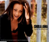 Shola Ama Maxi CD You're The One I Love - Germany (EX/VG+)