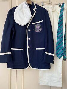 Official Ralph Lauren Wimbledon Umpire Uniform Blazer / Jacket Trousers Tie Cap