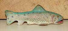 RARE ANTIQUE CAST IRON FIGURAL FISH BOTTLE OPENER