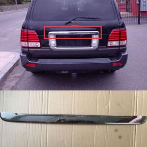For 2003-2007 Lexus LX470 ABS Chromed Rear Trunk Box Tail Gate Deocr Trim 1pcs