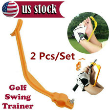 Golf Swing Training Aids Tool Trainer Wrist Control Gesture Alignment 2 Pack USA