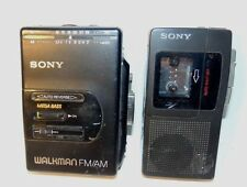 Sony Walkman and Micro Cassette Recorder for Parts