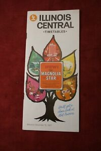 Illinois Central Railroad Time Table, 1967