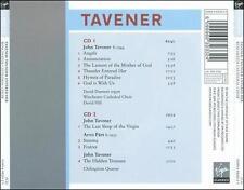 Tavener: Thunder Entered Her, The Last Sleep of the Virgin, The Hidden Treasure,