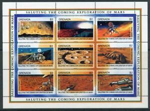 Grenada: 1991 Mars Exploration Mini-Sheet (2001) MNH
