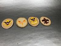 Lot 4 BSA Tenderfoot Rank Badge Patch Boy Scouts Badges & Patches Insignia USA
