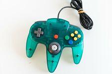 Nintendo 64 Controller Clear Blue Japan N64