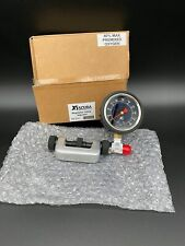 Xs Scuba Diving Regulator Inline Adjuster with Gauge p/n Tl121 New in Box