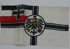 Original German WW 1 small Table Flag - Reichskriegsflagge - 3 x 5.5 inches