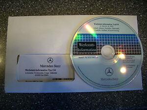 Original Mercedes Benz W124, WIS Wartungs u. Reparaturhandbuch auf CD
