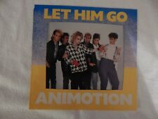 "ANIMOTION ""Let Him Go"" PICTURE SLEEVE! NEW! NICEST COPY ON eBAY!"