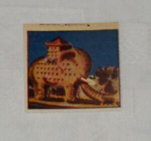 """FIGURINA ALBO DELLE MERAVIGLIE """" Albergo elefante """" n.73  Ed. Tomasina 1951 !!"""