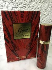 Van Cleef & Arpels Gem 7 ml Parfum Taschenzerstäuber Auffüllbar Vintage OVP