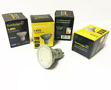 4x 3w LED GU10 SMD High Power Spot Light Energy Saving Bulbs Warm White 3000k UK