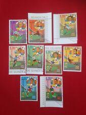 Briefmarken BM Fußball WM Weltmeisterschaft 1974 München Munich Stamps