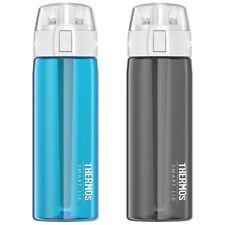 Thermos 24 OZ conectado Hidratación Deporte Botella de agua con Smart Active tapa