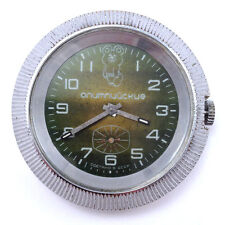 Rare Soviet ZIM windup watch Olympic Dial, UFO Case, PChZ, 1980 USSR #393