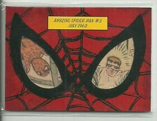 2017 Marvel Fleer Ultra Spider-Man #DCP1 Comic Book Dual Cut Panel Card 1963 #3