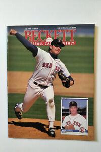 Beckett Baseball Magazine July 1991 Issue #76 Roger Clemens Boston Red Sox