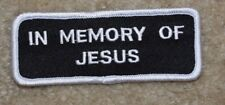 IN MEMORY OF JESUS MOTORCYCLE PATCH---014