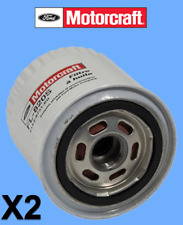 2 X Genuine FORD Engine Oil Filter Motorcraft Replace OEM# FL1820S Pair