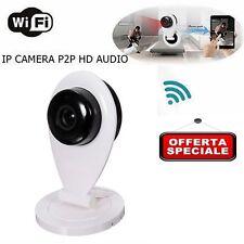 TELECAMERA IP CAMERA AUDIO ONVIF HD 720P IR WIRELESS WIFI P2P IPCAM ENTRATA SD