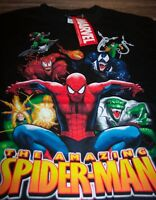 THE AMAZING SPIDER-MAN Marvel Comics T-Shirt YOUTH XL NEW Venom Carnage Lizard