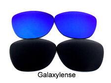 Galaxy Lentes De Repuesto Para Oakley Frogskins gafas de Sol Negro y azul