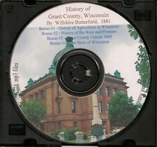 A History of Grant County, Wisconsin + Bonus Book