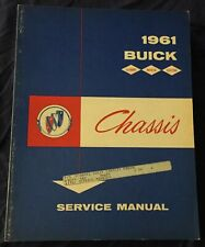 AM396 1961 Buick Chassis Service Manual