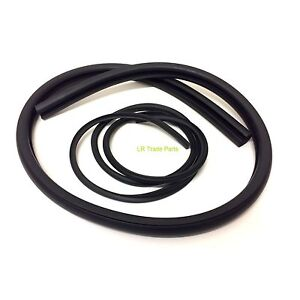 LAND ROVER SERIES 2 & 3 NEW REAR CAB CORNER WINDOW RUBBER SEAL & FILLER 330790/1