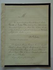Mme PARENT née NATHALIE BLIN 1866 Familles LEBEUF DE MONTGERMONT VICOMTE DES ROY