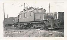 #288 GRR railway electric locomotive 228 at Galt yards Canada 1947 original phot