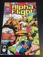 Alpha Flight#98 Incredible Condition 9.2(1991) Avengers, Blair Art!!